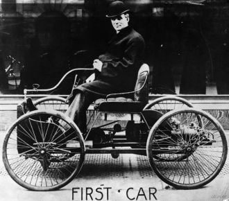 The first car of Henry Ford